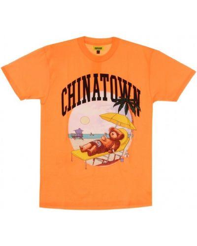 Pomarańczowa t-shirt Chinatown Market