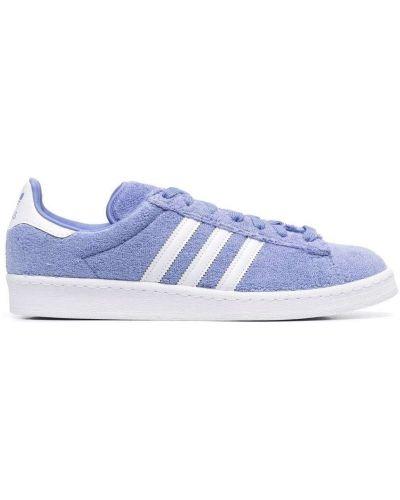 Parkа z printem - niebieska Adidas