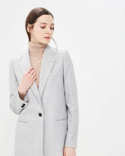 Пиджак 2019 серый Mango