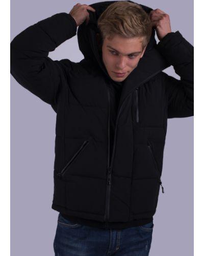 Куртка с капюшоном - черная Avecs