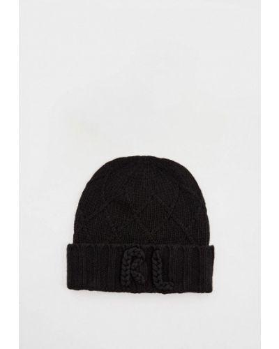 Черная шапка осенняя Polo Ralph Lauren