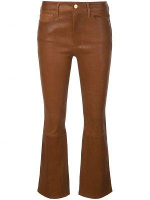 Укороченные брюки зауженные с заниженной талией Frame