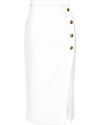 Biała spódnica midi Pinko
