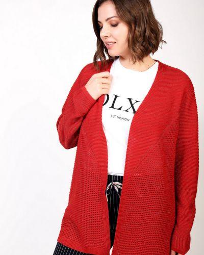 Красный пиджак из вискозы Via Appia