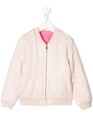 Расклешенная розовая блузка Chloé Kids