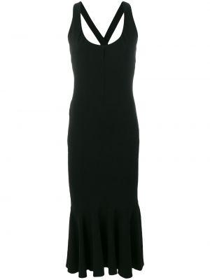 Облегающее платье на бретелях винтажное с оборками без рукавов Dolce & Gabbana Pre-owned