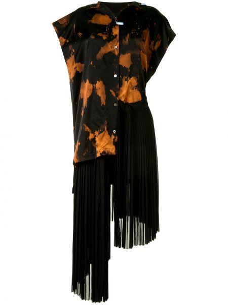 Платье миди на пуговицах платье-рубашка Maison Mihara Yasuhiro