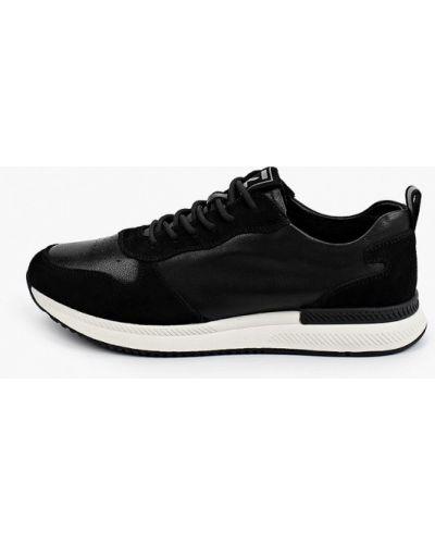 Черные кроссовки из полиуретана Sprincway