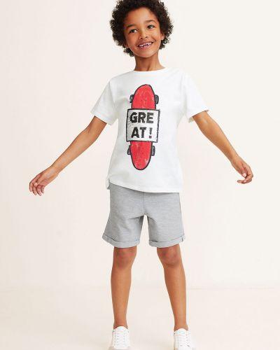 Шорты трикотажные хлопковые Mango Kids