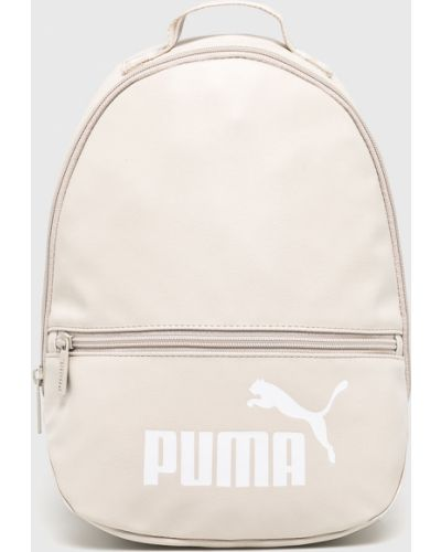 Кожаный рюкзак бежевый Puma