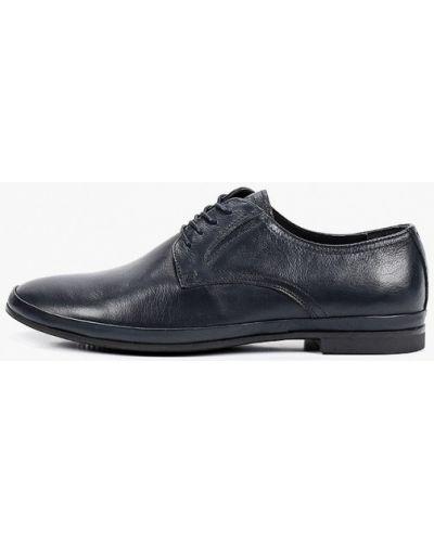 Кожаные синие туфли Henderson