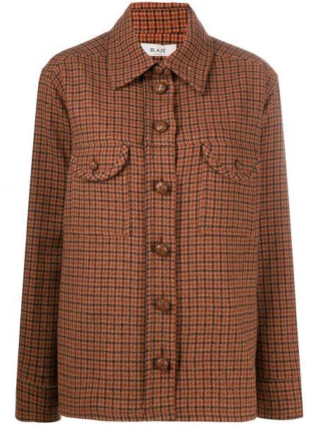 Рубашка с воротником с карманами с манжетами на пуговицах Blazé Milano