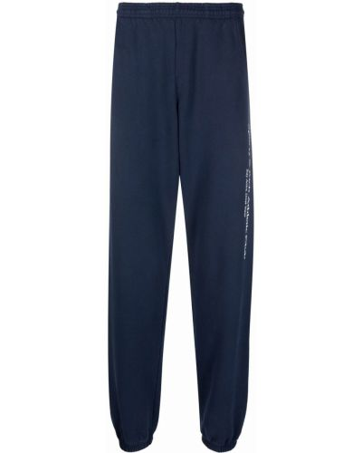 Niebieskie spodnie z printem Sporty And Rich