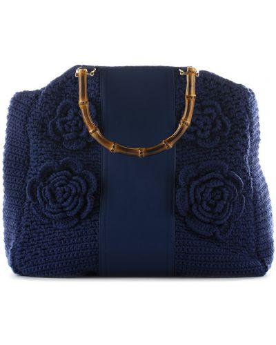 Niebieska torebka La Milanesa