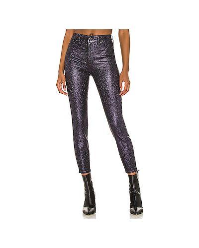Хлопковые джинсы-скинни с карманами на молнии 7 For All Mankind