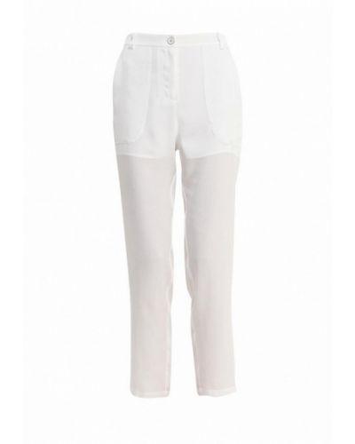 Белые брюки прямые Pinko