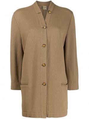 Куртка из верблюжьей шерсти Krizia Pre-owned
