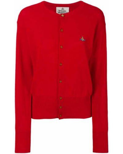 Красный кардиган Vivienne Westwood