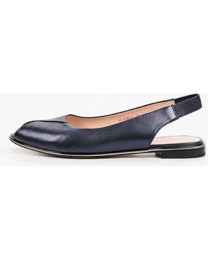 Синие кожаные сандалии Pazolini