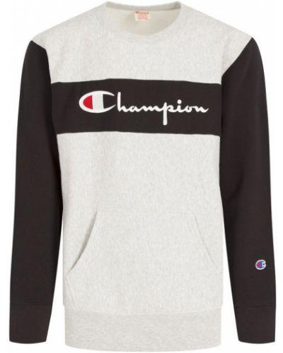 Szary bluzka przeoczenie Champion