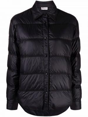 Czarna klasyczna kurtka Moncler