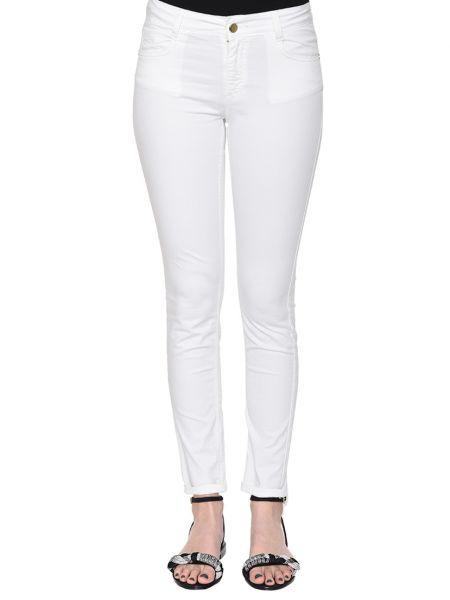 Хлопковые брюки - белые Anna Rachele