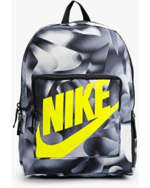 Серый нейлоновый рюкзак Nike