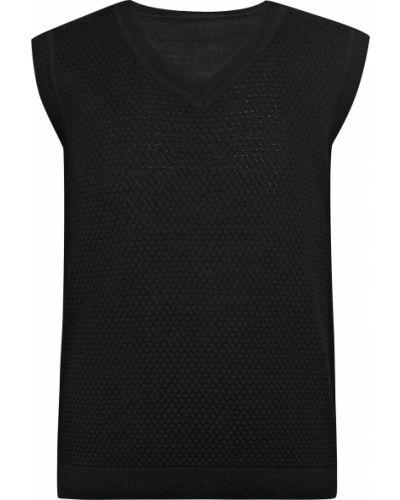 Черная жилетка Aletta