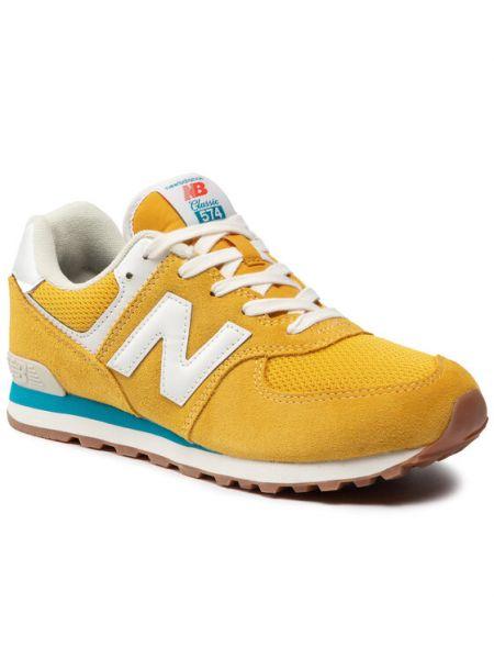 Żółte sneakersy New Balance