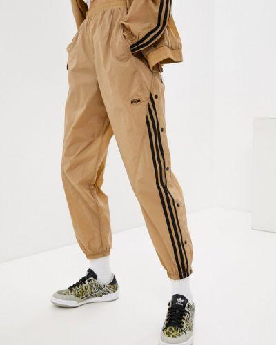 Бежевые спортивные брюки Adidas Originals