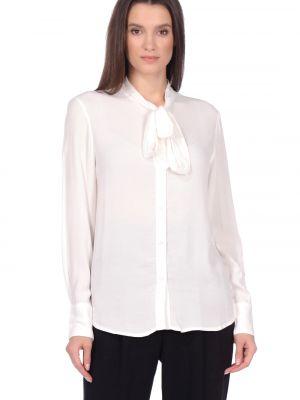 Блузка на пуговицах из вискозы с воротником Baon