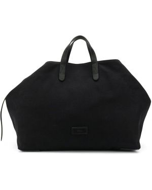 Черная дорожная сумка со шлейфом Mismo
