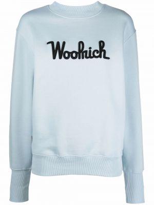 Свитер длинный - синий Woolrich