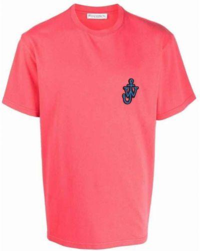 Różowa t-shirt Jw Anderson