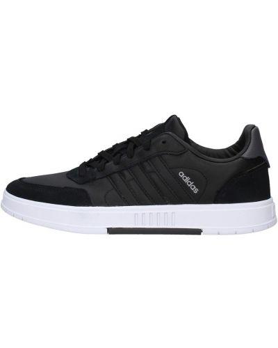 Czarne trampki wysokie Adidas
