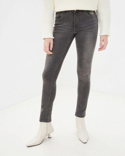 Серые джинсы-скинни узкого кроя Sh
