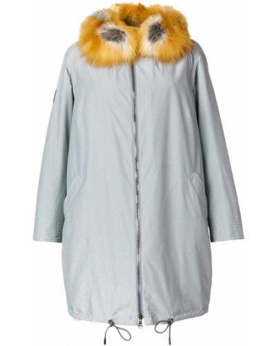 Пальто шерстяное из лисы Gianfranco Ferre Vintage