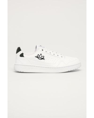 Białe sneakersy sznurowane Adidas Originals