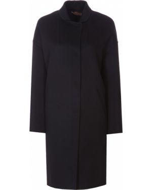 Кашемировое пальто - черное Colombo