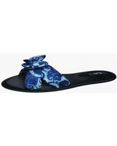Синие домашние тапочки Petit Pas