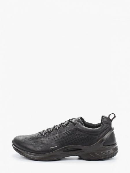 Кроссовки черные низкий Ecco