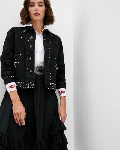 Черная джинсовая куртка Polo Ralph Lauren