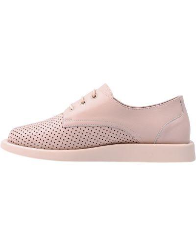 Кожаные туфли - розовые Phany