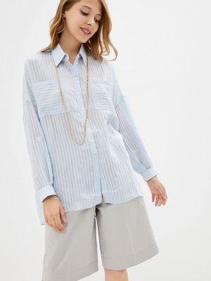 Голубая весенняя блузка элис