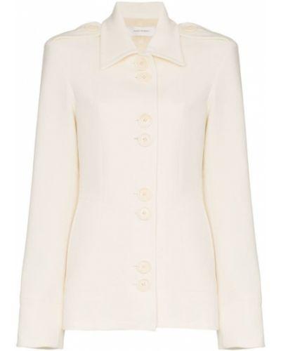 Однобортный приталенный пиджак Wales Bonner
