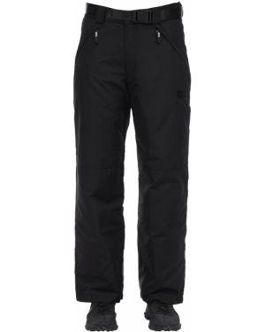 Ciepłe czarne spodnie klamry Ufu - Used Future