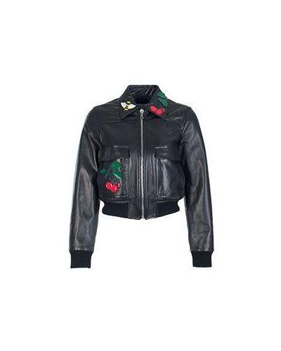 Укороченная куртка весенняя повседневная Valentino Red