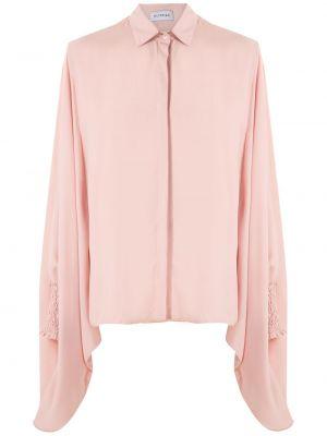 Длинная рубашка - розовая Olympiah