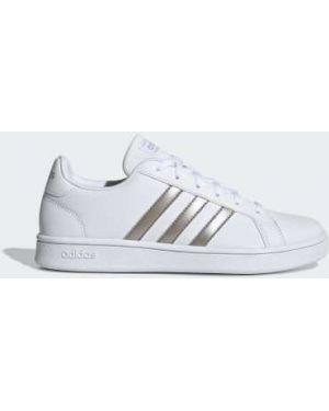 Кроссовки из искусственной кожи баскетбольные Adidas