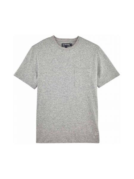 Szara t-shirt Vilebrequin